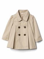 Gap Pleated trench coat