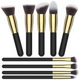 Makeup Brush Kit Color, Premium Quality Cosmetic Makeup Brush Sets, Soft Durable Synthetic Bristles, Beautiful Pouch/Bag Included by Clara Jones