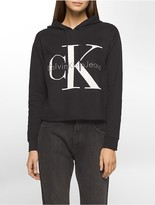 Calvin Klein Cropped Logo Hoodie