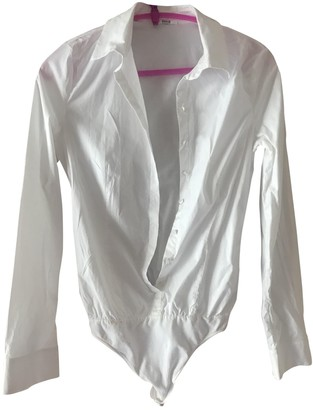 Wolford White Cotton Top for Women