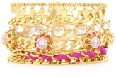 Juicy Couture Multi Strand Floral Bracelet
