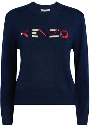 Kenzo Logo Knit Sweater