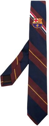 Thom Browne FCB Engineered RWB Crest Tie