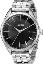 Nixon Women's A934000 Minx Analog Display Swiss Quartz Silver Watch