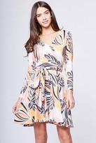 Yumi Kim Double Cross Jersey Dress