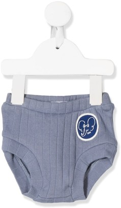 Bobo Choses Elephant Patch Knitted Shorts