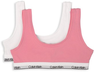 Calvin Klein Two-Pack Crop Bras