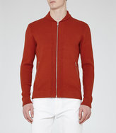 Reiss Jamison Shawl Collar Zip Cardigan