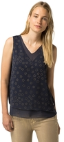 Tommy Hilfiger Star Print Sleeveless Top
