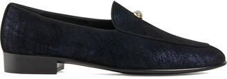 Giuseppe Zanotti Rudolph pearl loafers