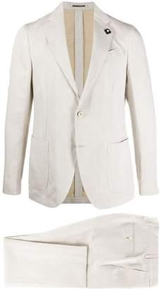 Lardini Linen-Blend Two-Piece Suit