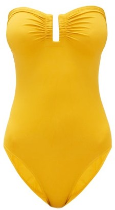 Eres Cassiopee U-ring Strapless Swimsuit - Yellow
