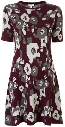 Kenzo Peonie jacquard-knit dress