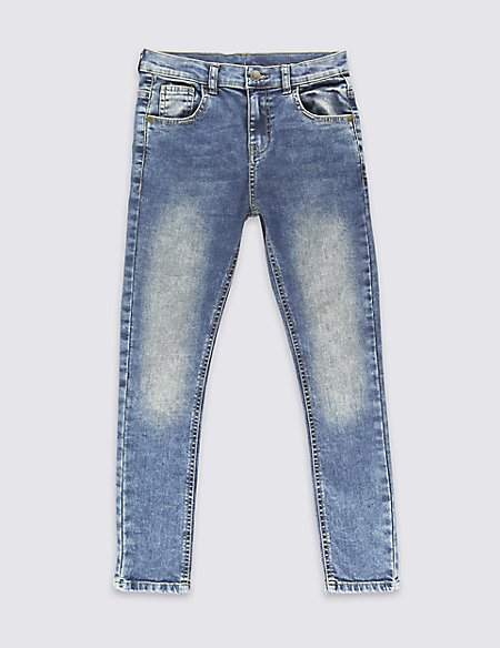 Marks and Spencer Additional Length Skinny Leg Jeans (3-16 Years)