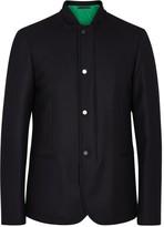Paul Smith Navy Wool Travel Jacket