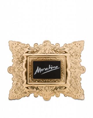 Moschino Frame Clutch Woman Gold Size U It - (one Size Us)