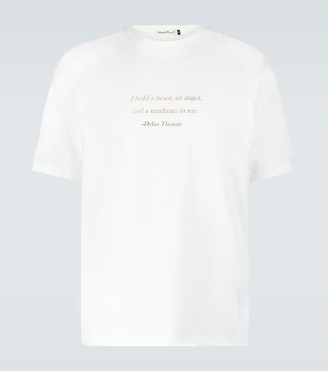 Undercover Dylan Thomas quote printed T-shirt
