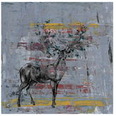 Parvez Taj Full Antlers by Canvas)