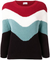 RED Valentino knitted jumper - women - Cotton - XS