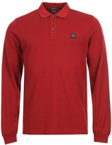 Paul & Shark Polo Shirt Long Sleeved A17P1700SF 142 Red