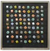 Uttermost Color Blocks Shadow Box Wall Art
