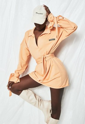 Missguided Polo Sweater Dress