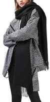 Topshop Women's Fringed Scarf