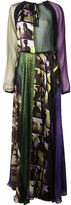 Jean Paul Gaultier patchwork maxi dress