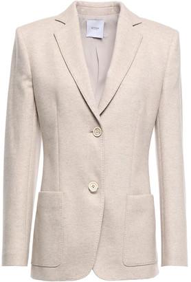 Agnona Wool And Cashmere-blend Felt Blazer