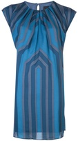 Anna Sui monochromatic print dress