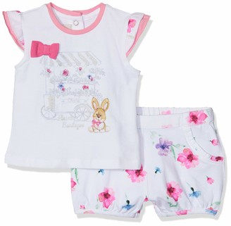 Chicco Baby Girls' Completo t-Shirt Manica Corta + pantaloncini Clothing Set