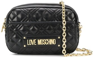 Love Moschino quilted camera crossbody bag