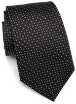Armani Collezioni Square Solid Silk Tie