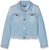 Tommy Hilfiger Girl's Denim Slbpstr Jacket,(Manufacturer Size: 14)