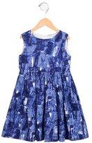 Rachel Riley Girls' Sleeveless Printed Dress