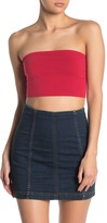 Double Zero Back Lace-Up Tube Top