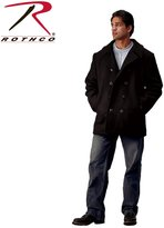 Rothco US Navy Type Pea Coat, - 4X Large