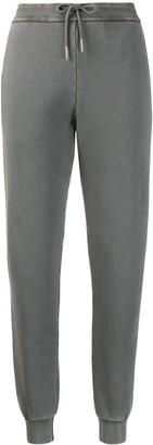 Thom Browne Loopback Garment-Dye Track Pants