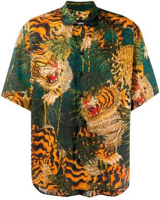 DSQUARED2 Tiger print shirt