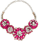Valentino Crystal Flower Necklace