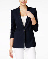 Armani Exchange Single-Button Blazer