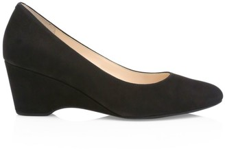 Cole Haan The Go-To Suede Wedge Pumps