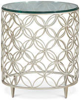 Caracole Cortland Side Table - Chalice Silver