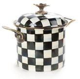 Mackenzie Childs MacKenzie-Childs Courtly Check Enamel 7 Qt. Stockpot