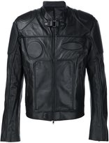 Juun.J biker jacket - men - Sheep Skin/Shearling/Polyester/Rayon - 48