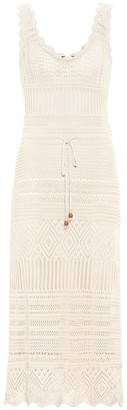 Altuzarra Exclusive to Mytheresa Tori crocheted cotton midi dress
