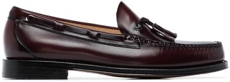 G.H. Bass & Co. Weejun Larkin tassel-trimmed leather loafers