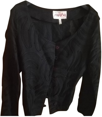 Byblos Black Linen Jacket for Women