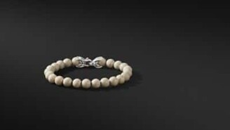 David Yurman Spiritual Beads Bracelet With River Stone, 8Mm