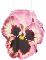 Christopher Kane Silk Flower Top